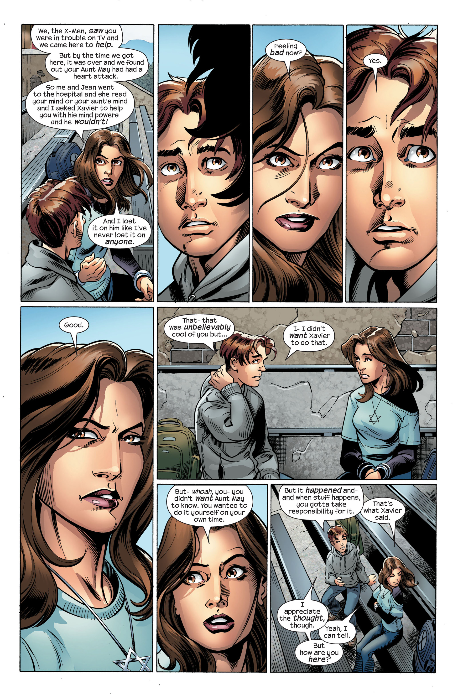 Read online Ultimate Spider-Man (2000) comic -  Issue #107 - 9