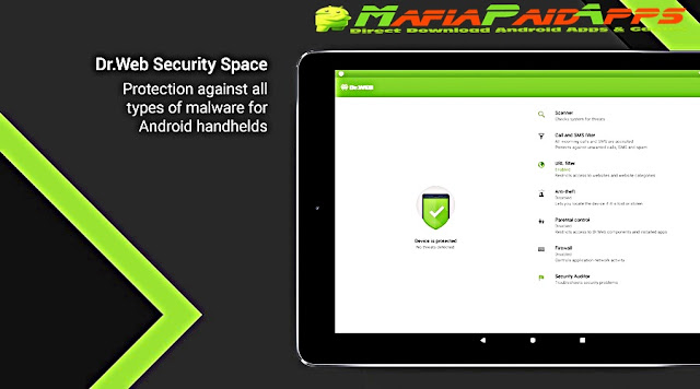Dr.Web Security Space Life Apk + Key MafiaPaidApps