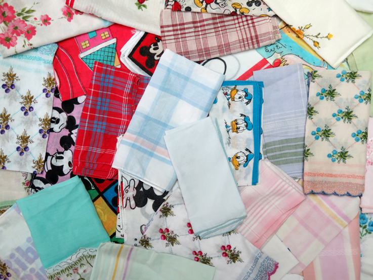 Why hankies make a handy gift for a new mum