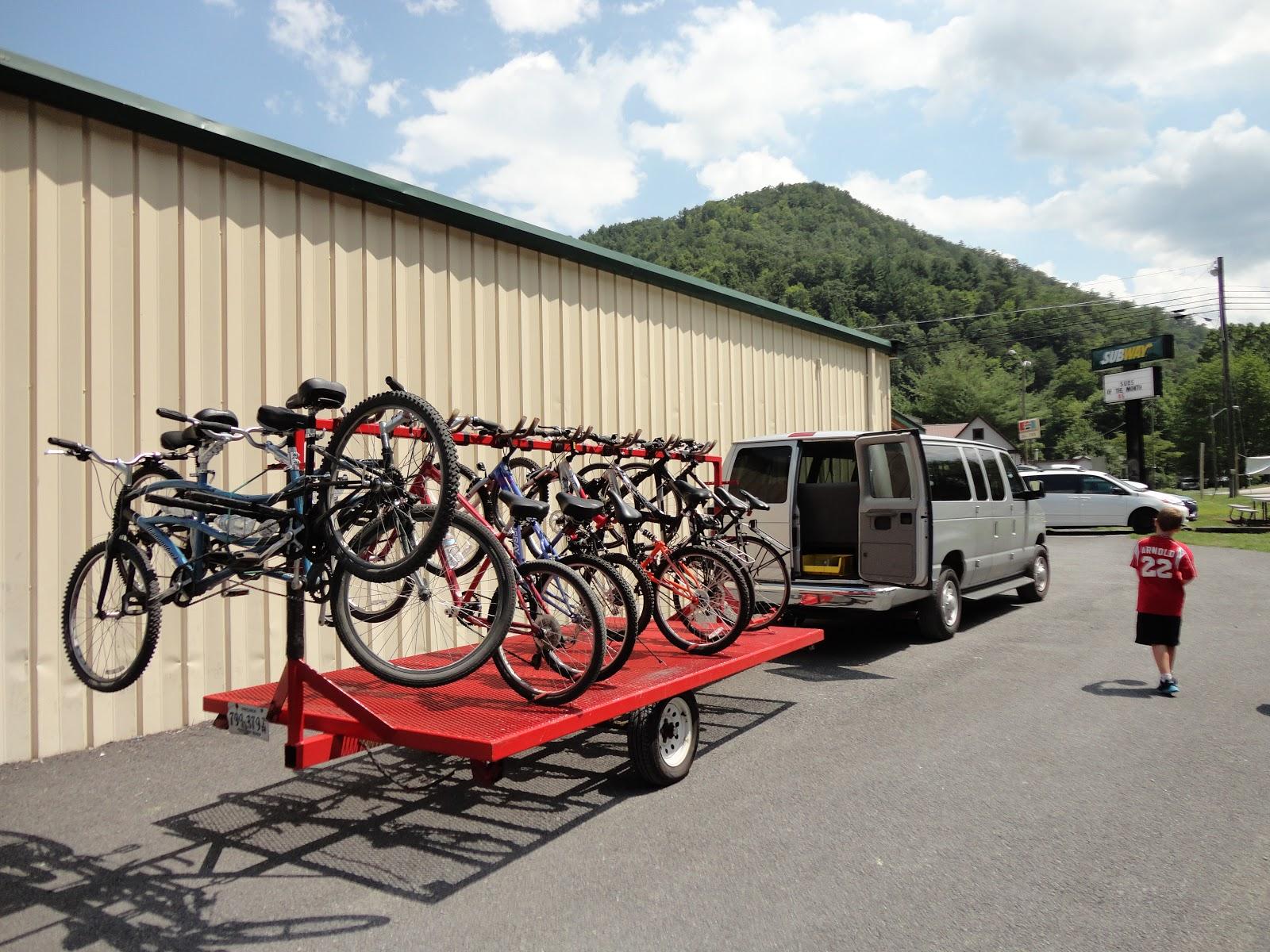 Aug 12 Downhill on the VA Creeper | greenmon's folly