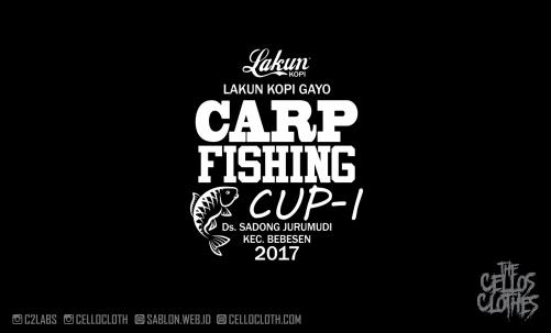 Sablon Kaos Lomba Mancing Lakun Kopi Aceh Gayo Tournament Bahan Jersey Serena