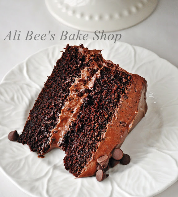 Ask Ina Garten: Ali Bee's Bake Shop: WFD?: Decadent Double Chocolate Cake