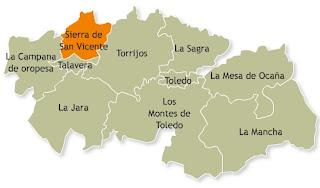 Resultado de imagen de Comarca de Sierra de San Vicente