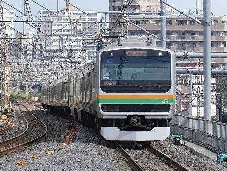 【湘南】と【新宿】が分断!渋谷駅高架化工事に伴うE231系の普通 大崎行き
