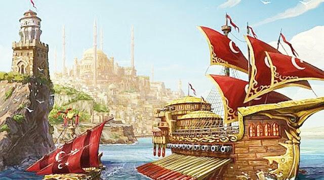 Osmanlı donanmasının yakıldığı yerler nereleridir?