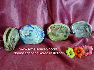 souvenir pernikahan dompet, souvenir pernikahan murah, souvenir pernikahan dompet resleting korea