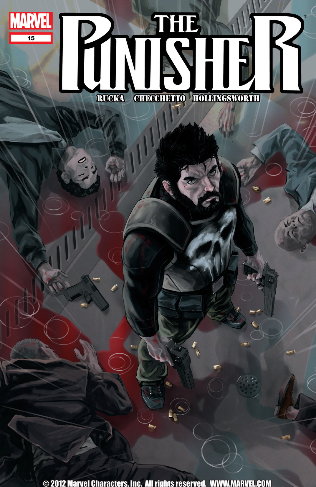 The Punisher (2011) 15 Page 1