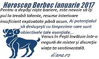 Horoscop ianuarie 2017 Berbec