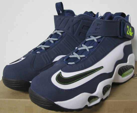 on sale a693f bf7b3 Nike Air Griffey Max 1 White Black-Midnight Navy-Stealth Available Early On  eBay