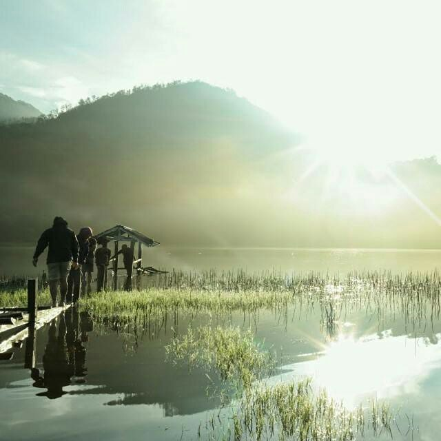 foto danau taman hidup argopuro