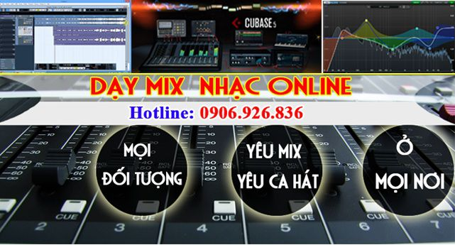 day hoc thu am mix nhac