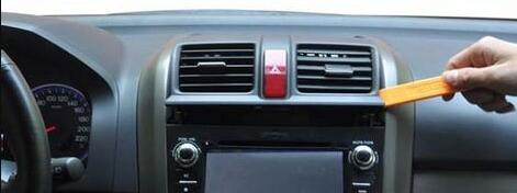Honda CRV CR-V 2006-2011 radio removal and Upgrade stereo