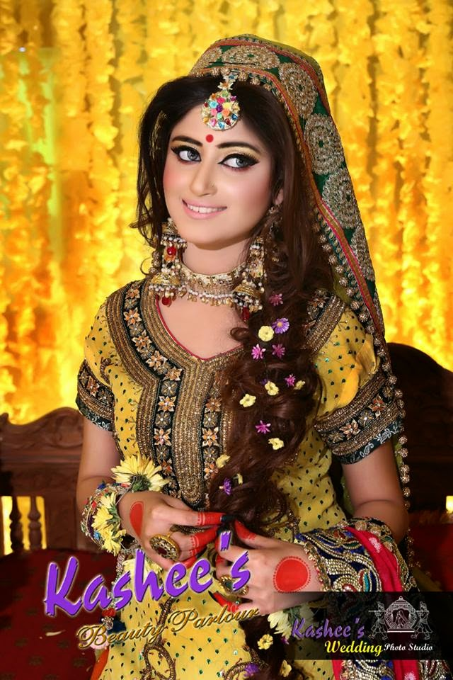 Sajjal Ali Latest bridal Photo shoot by Kashee's Beauty