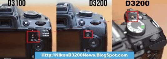 Nikon-D3200-vs-D3100-body-comparison
