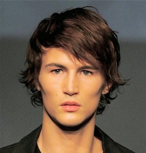 Un look impactante con peinados hombre flequillo Galeria De Cortes De Cabello Estilo - Moda Cabellos: Peinados de hombres con flequillo 2015