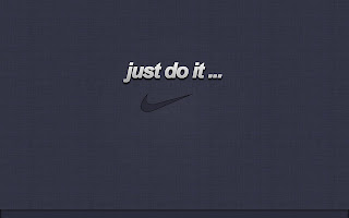 Nike Logo Just do it Simple HD Wallpaper