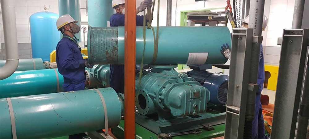 Sửa máy thổi khí, sửa chữa máy thổi khí, Bảo dưỡng máy thổi khí, Bảo trì máy thổi khí