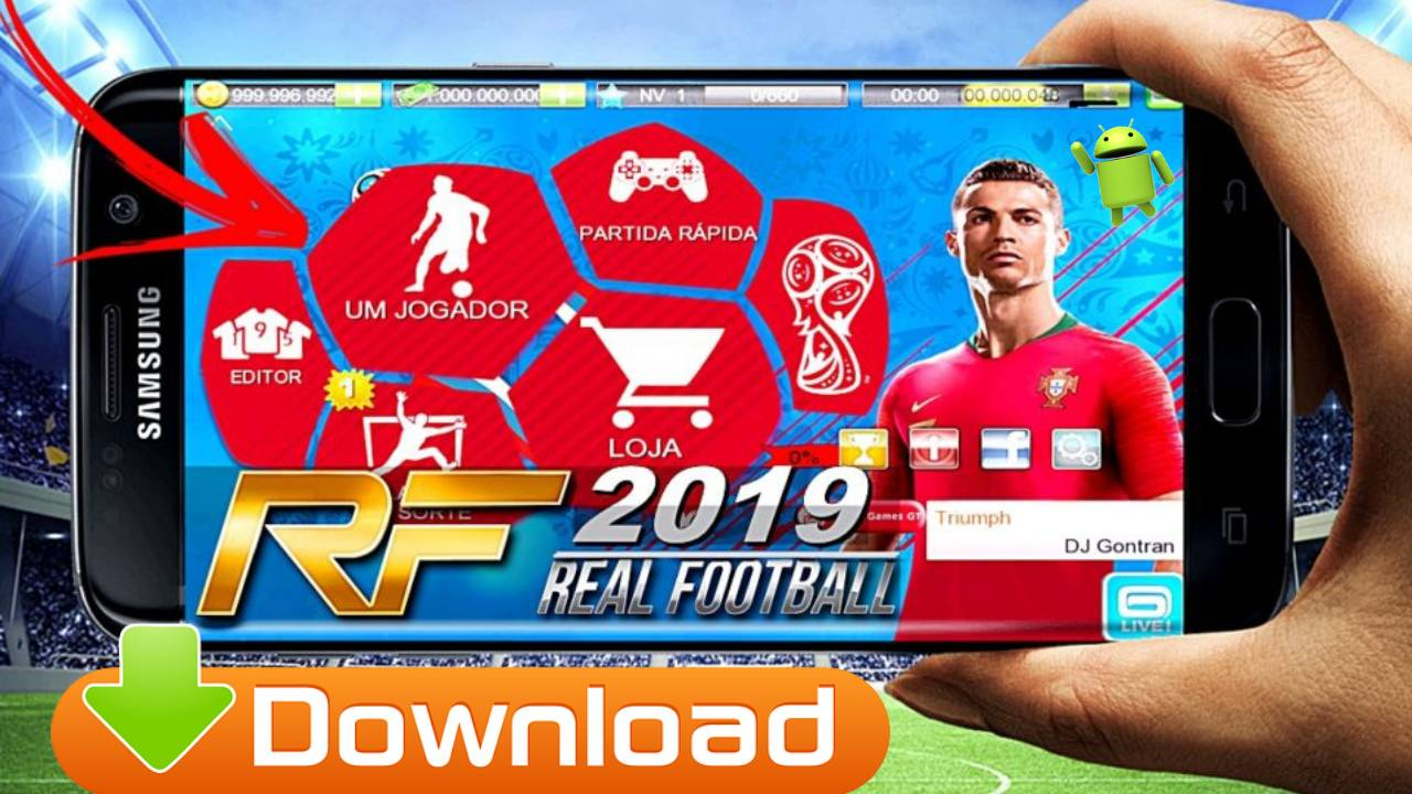 Real football 2018 gameloft download