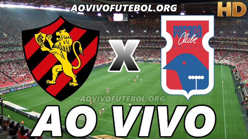 Sport x Paraná Ao Vivo HD TV PFC