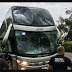 Ônibus da dupla Maiara e Maraisa sofre acidente no Paraná