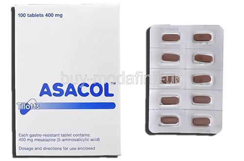 سعر ودواعى إستعمال دواء أساكول Asacol لعلاج إلتهابات القولون التقرحى