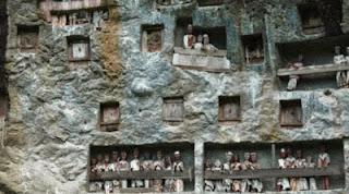Pemakaman Batu Toraja, Indonesia
