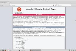 Cara install apache, php, mysql, dan phpmyadmin di linux Mint atau Ubuntu 16