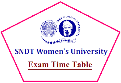 SNDTWU Time Table March/April 2021