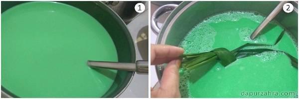 cara membuat puding lumut