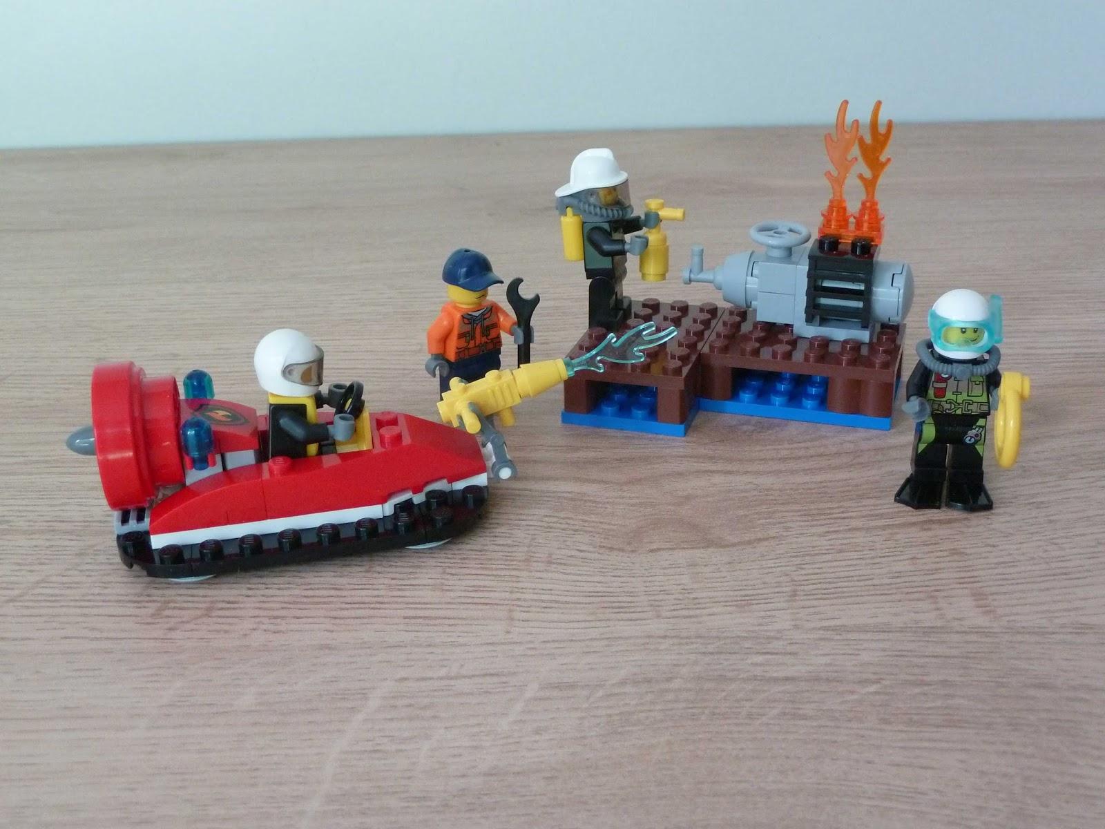 Totobricks Lego 60106 Lego City Fire Starter Set