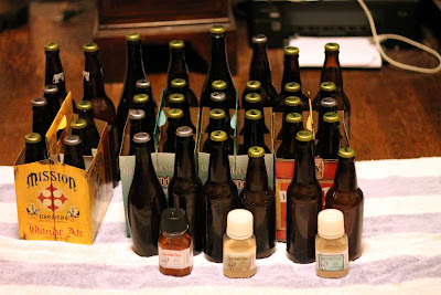 Saison finished with a variety of Brett species.