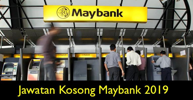 Jawatan Kosong di Malayan Banking Berhad Maybank 2019