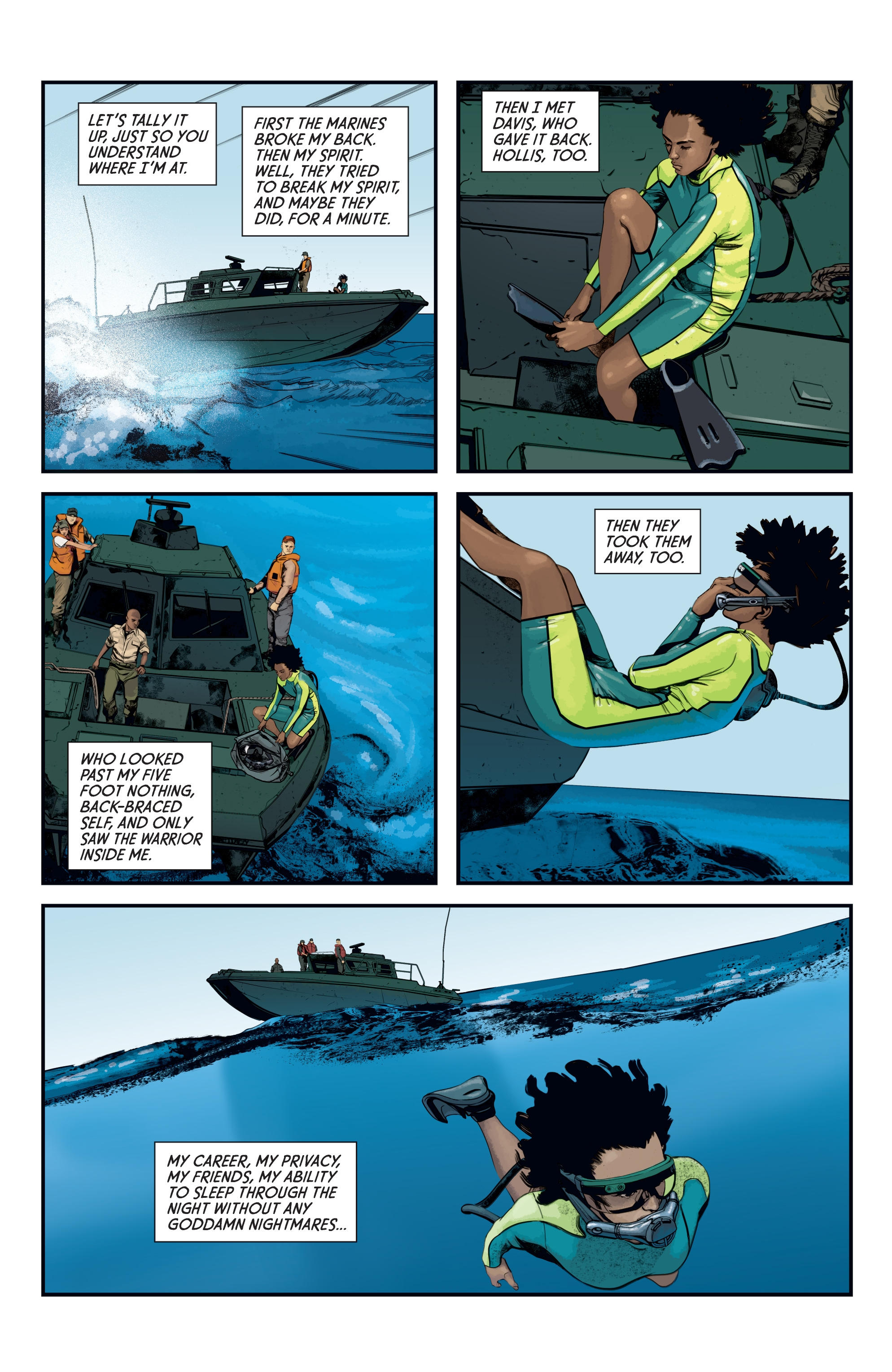 Read online Aliens: Defiance comic -  Issue #12 - 21