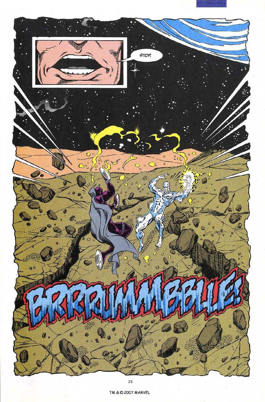 Read online Silver Surfer (1987) comic -  Issue #60 - 27