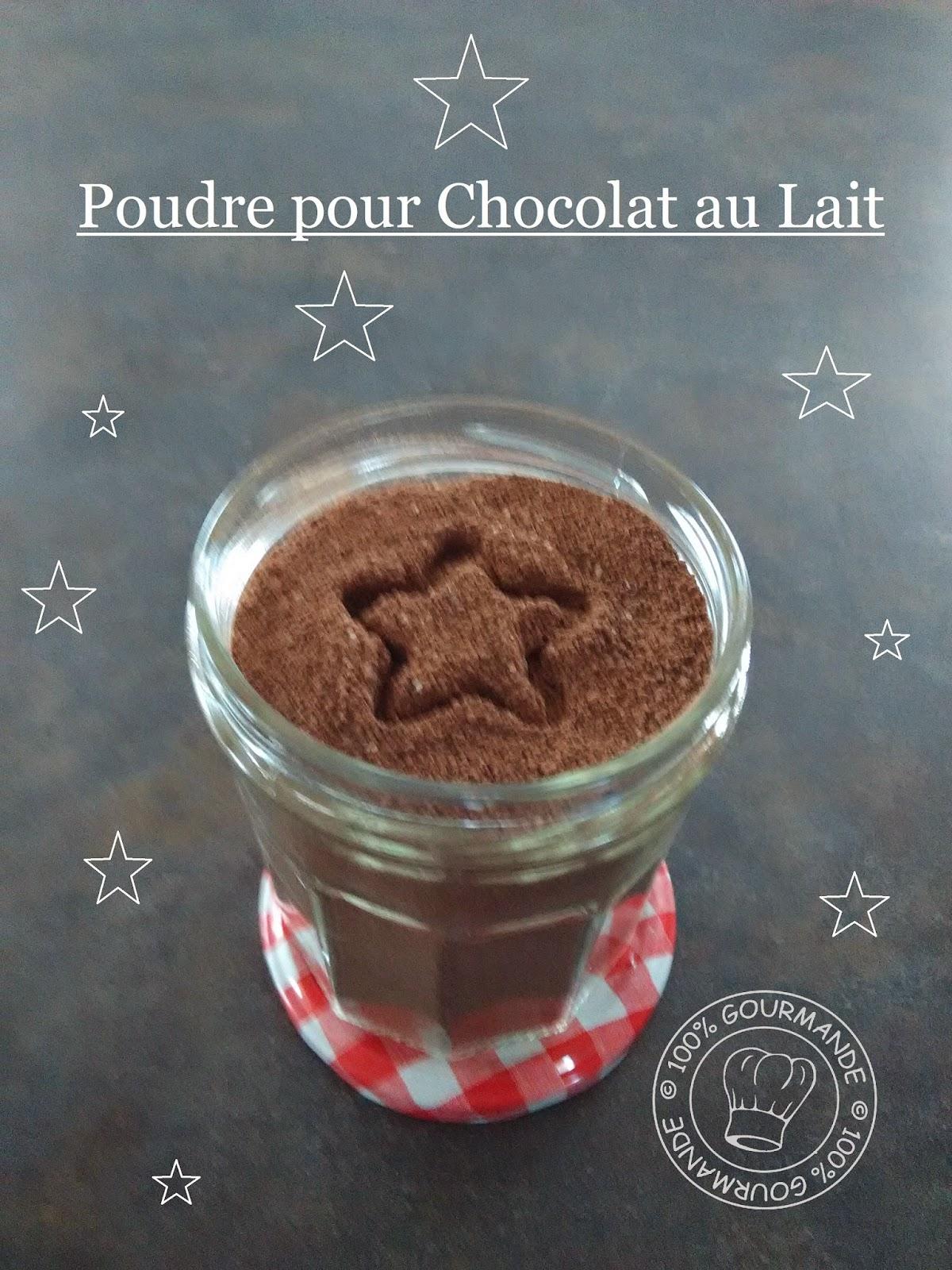 100 gourmande faire sa poudre pour chocolat au lait maison. Black Bedroom Furniture Sets. Home Design Ideas