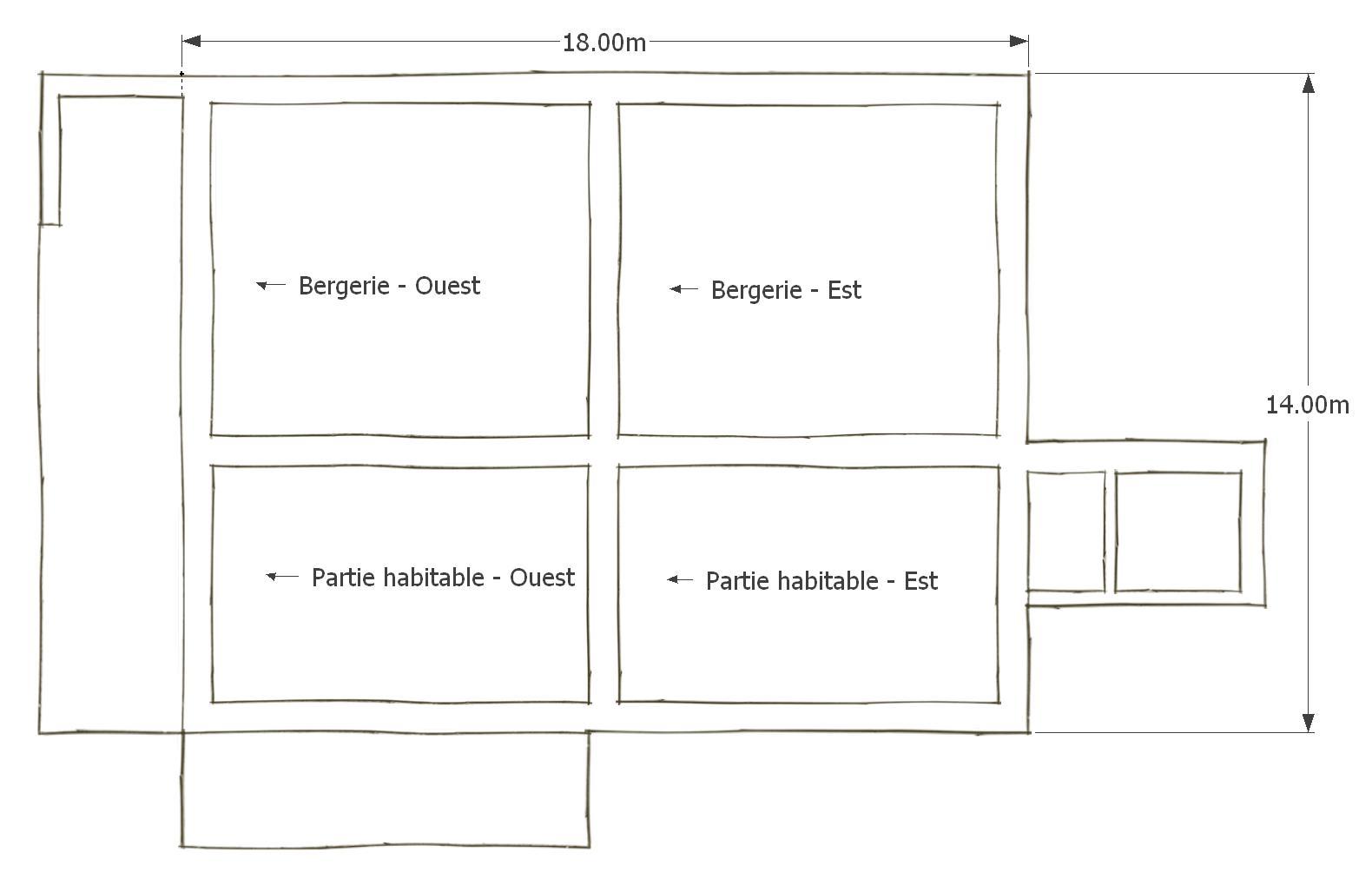 Bien-aimé Le Domaine de Barot à Villelongue d'Aude: Les bâtiments YM82