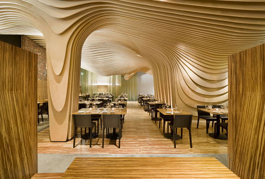 Modern Furniture: Cool Unique Restaurant Interior Design