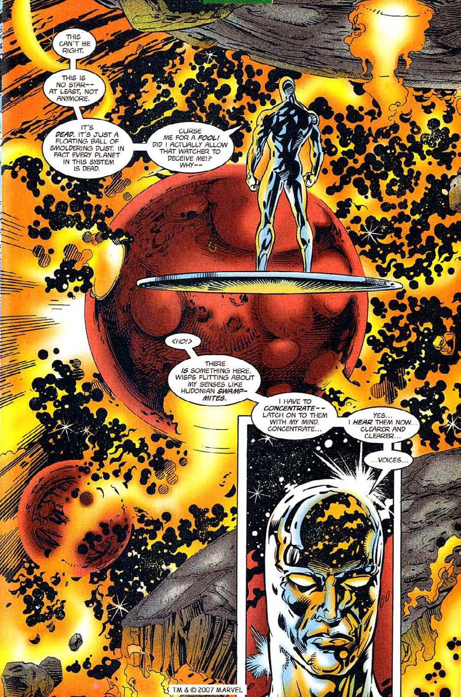 Read online Silver Surfer (1987) comic -  Issue #119 - 25