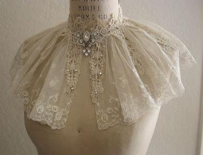 манишка накидка на платье 19 в