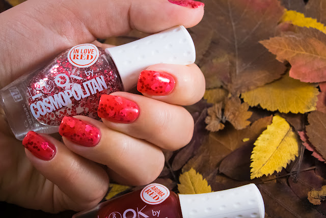 Naillook by Cosmopolitan 31447 Red in Love Aroma Red