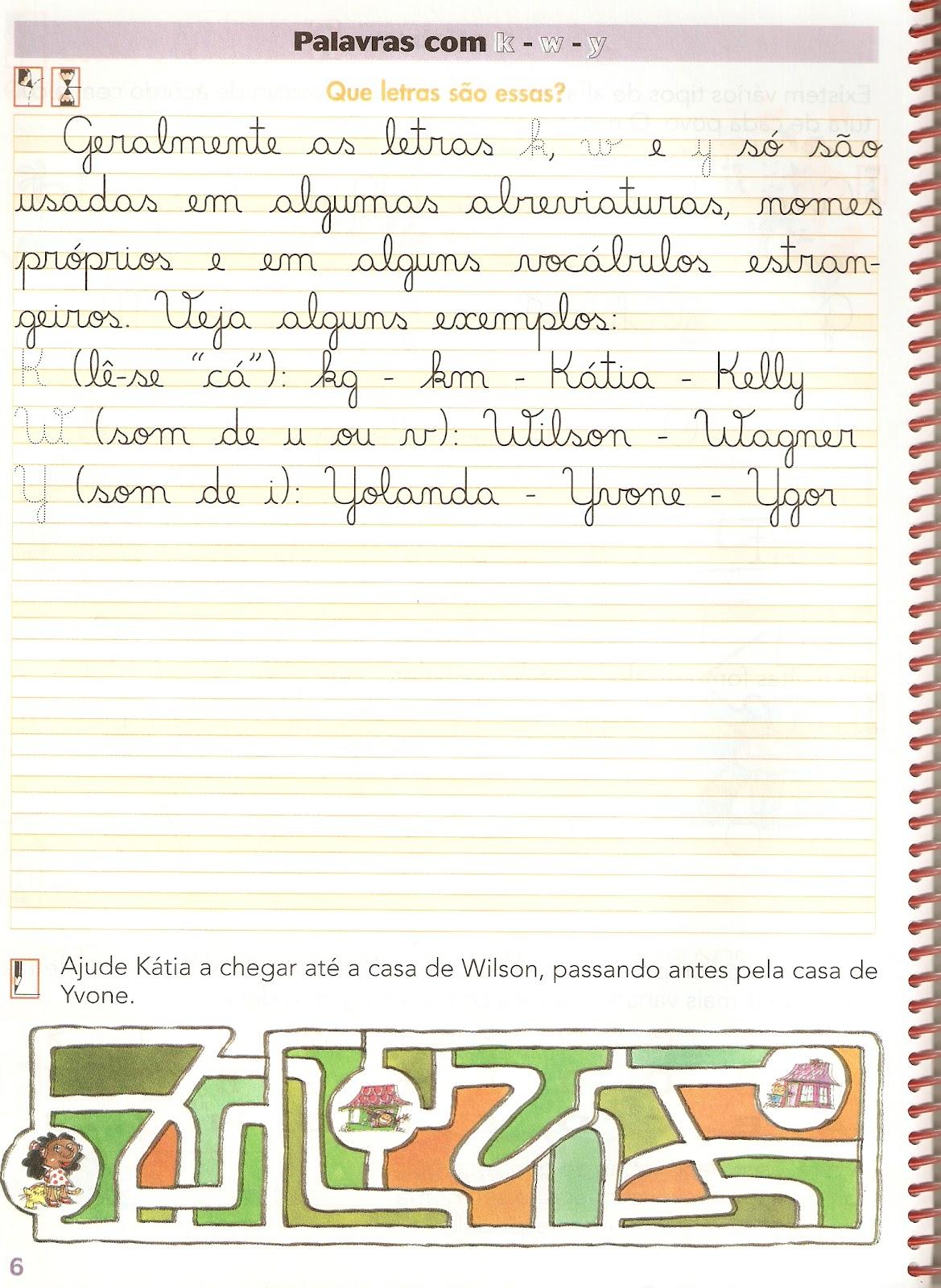 Suficiente Escolinha da Hora: TREINANDO A CALIGRAFIA HT83
