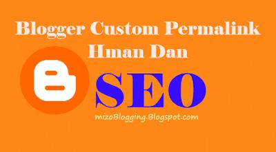 Blogger Custom Permalink Hman Dan