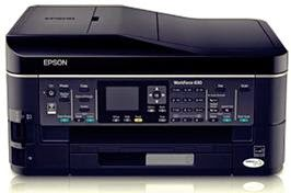 Epson Workforce WF-630 Driver Download