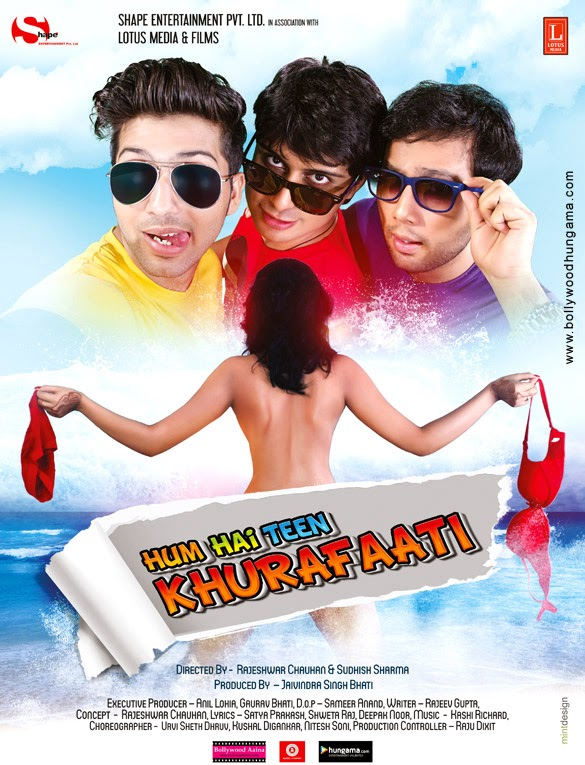 Hum Hai Teen Khurafaati First Look Poster