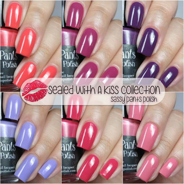 Sassy Pants Polish - Sealed With A Kiss Collection