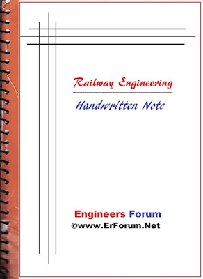 railway-engineering-handwritten-note