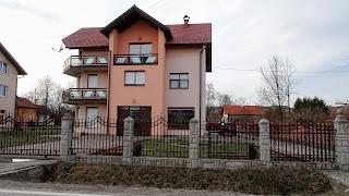 New houses built after the Bosnian war
