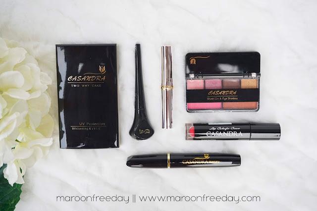 Casandra Cosmetics - Makeup Lokal Kantong Anak Kuliahan by Rizka Prima
