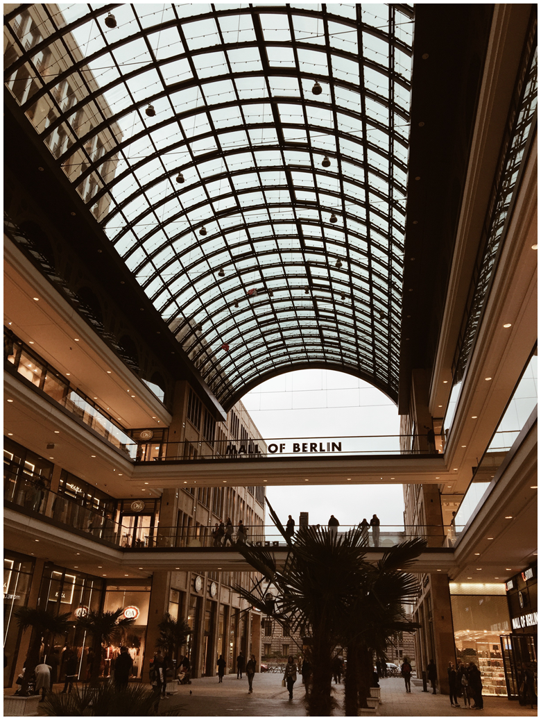 travel diary berlin part 2, mall of berlin