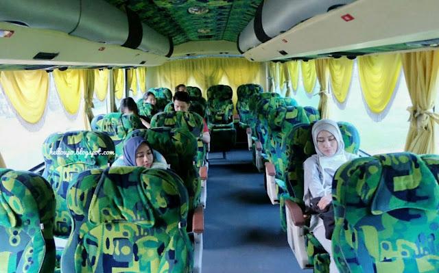 pengalaman naik bus dari singapore ke melaka